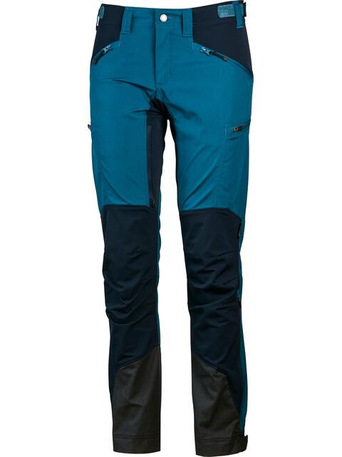 Lundhags W's Makke Pants Long Petrol/Deep Blue